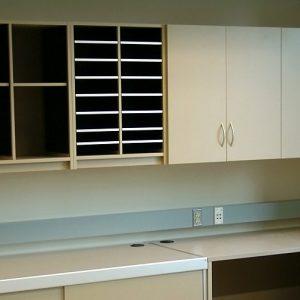 Organizing Modules and Adjustable shelving