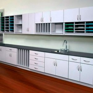 Variety of Adjustable Shelving and Organizing Modules