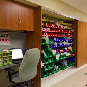 Laminate Cabinets in Healthcare setting