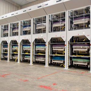 Hospital Bedlift Storage