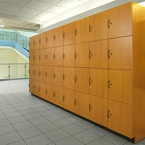 Day Use Lockers