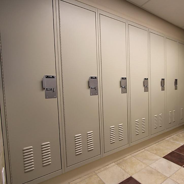 Steel Lockers storage solution