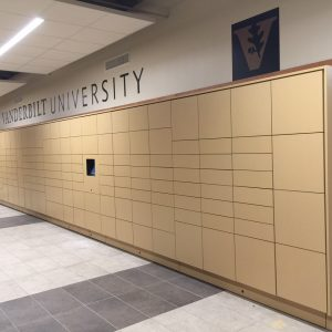 Electronic Smart Lockers for Universities