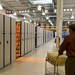 High-Density Active File Storage