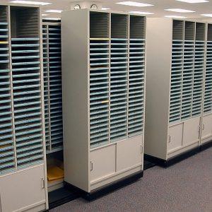 Free Standing Sort Modules provide adjustable shelves