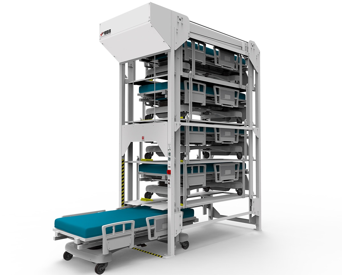 Hospital Bedlift Storage is customized to your needs