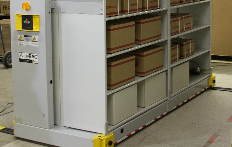 7P ActivRAC Mobilized Shelving System