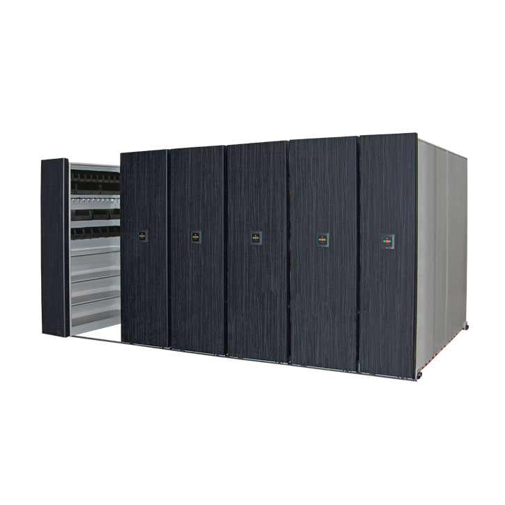 Low Profile Mobile Shelving System