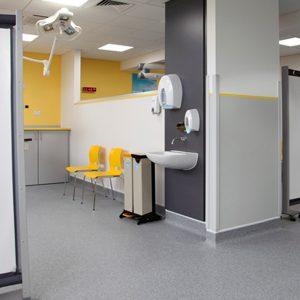 Kwickscreen in hospital setting