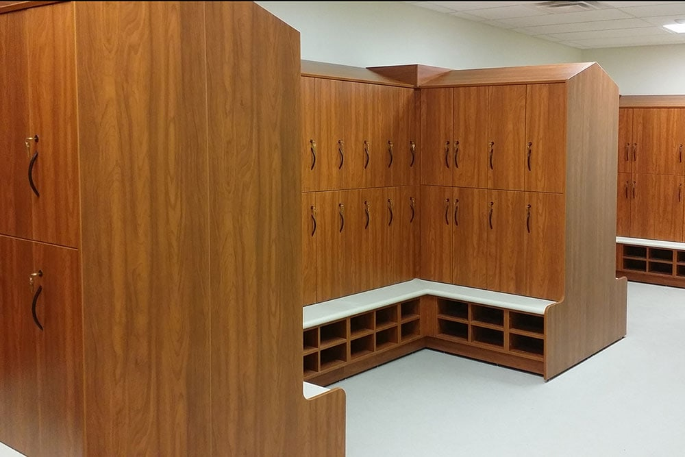 Modular Laminate Lockers