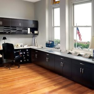 Laminate Cabinets in a variety of colors