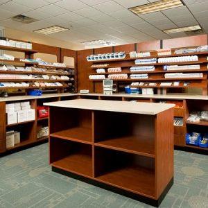 Laminate Cabinets fit storage needs