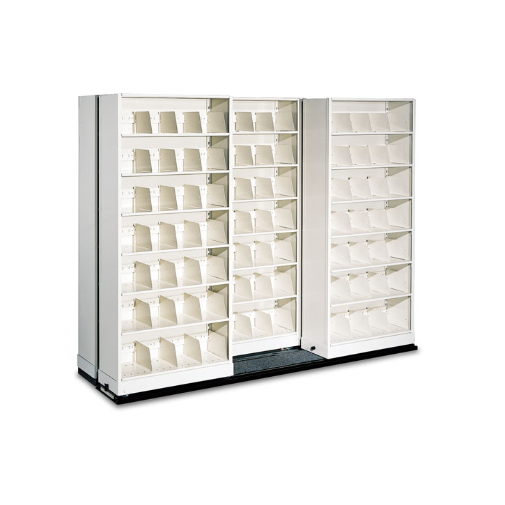 High-Density Lateral Sliding Shelving