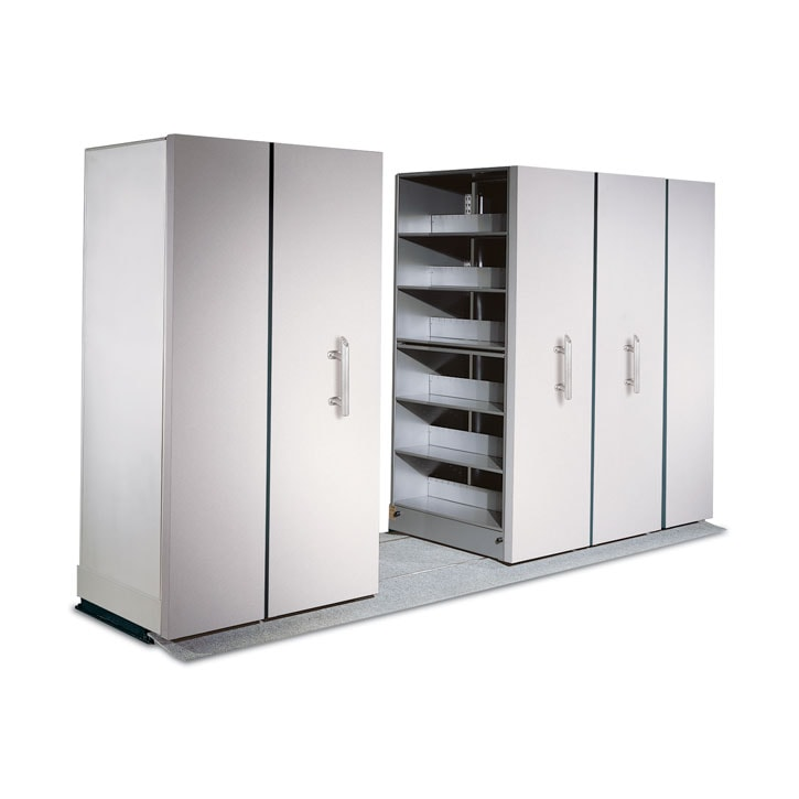MANUAL MOBILE SHELVING