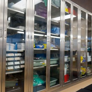 Stainless Steel Cabinets storage solution