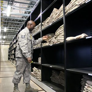 Military Issue Gear Storage