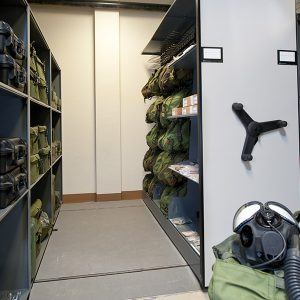 Military Gear and Issue Storage
