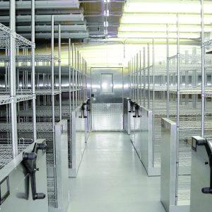 High-Density Walk-In Cooler Storage