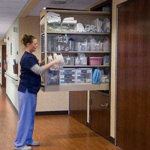 CoreSTOR Nurse Server Cabinet