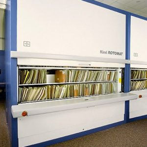Office Rotomat storage solution