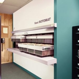 Vertical Office Carousel Rotomat