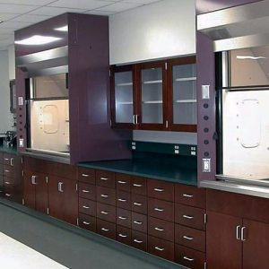 Powder Coated Steel Cabinets for science classes