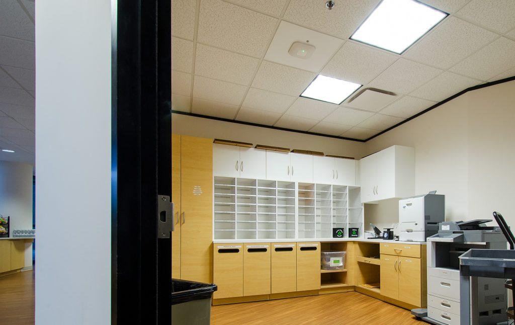 SAS: Mail Center Furniture