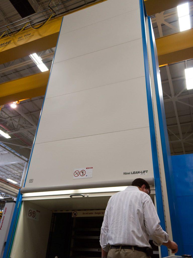 Vertical Lift For Warehouse Organization Lean Lift