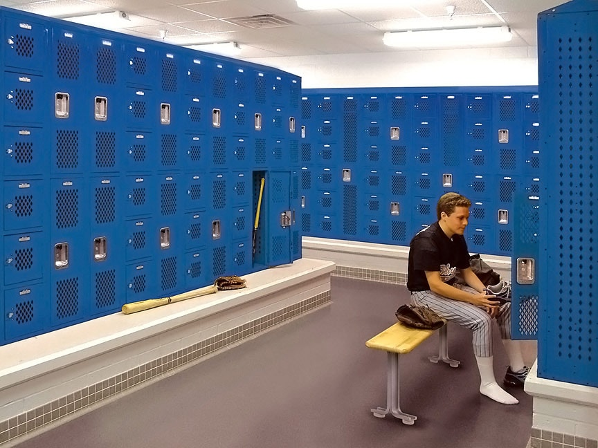 Storage solved with Durable Steel Lockers