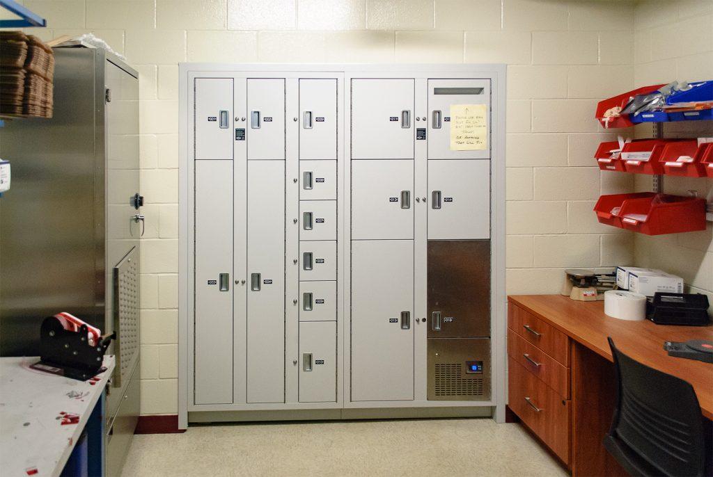 Whitehall evidence lockers