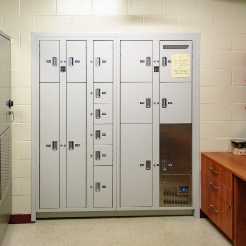 Whitehall evidence lockers
