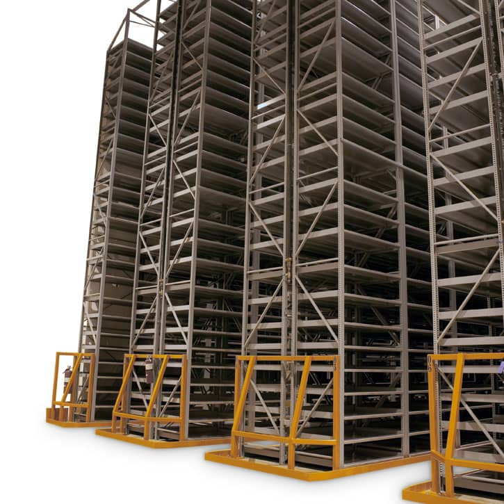 Static High-Bay Shelving