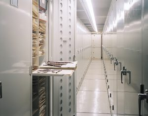 Cleveland High Density Storage and Mobile Shelving | Patterson Pope