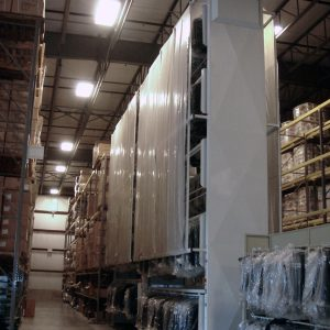 Industrial Vertical Garment Carousel