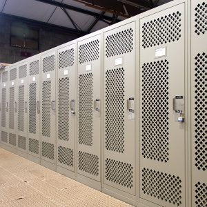 Personal Storage Lockers for the Military