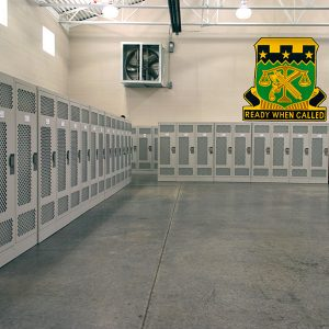 Personal Storage Lockers for the National Guard