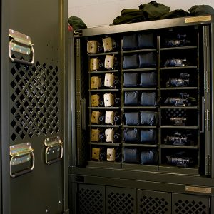 Secure Weapons and Optics Storage