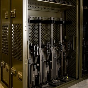 Secure Storage for Military Weapons