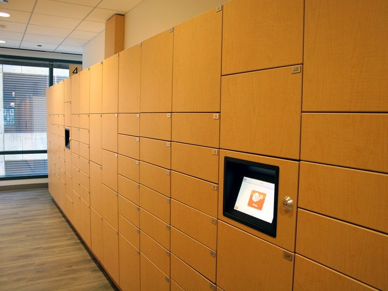 Mail Room Electronic Lockers