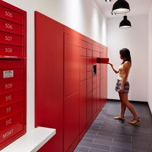 Electronic Parcel Lockers