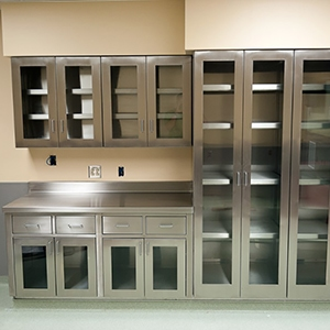 Stainless Steel Cabinets in a variety of sizes