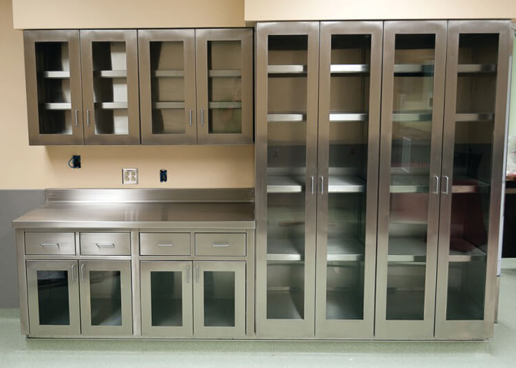 Stainless Steel Cabinets: Storage Solutions | Patterson Pope