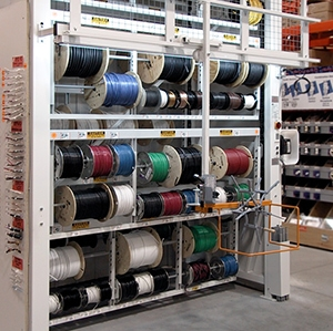Industrial Vertical Carousel Vidir wire carousel