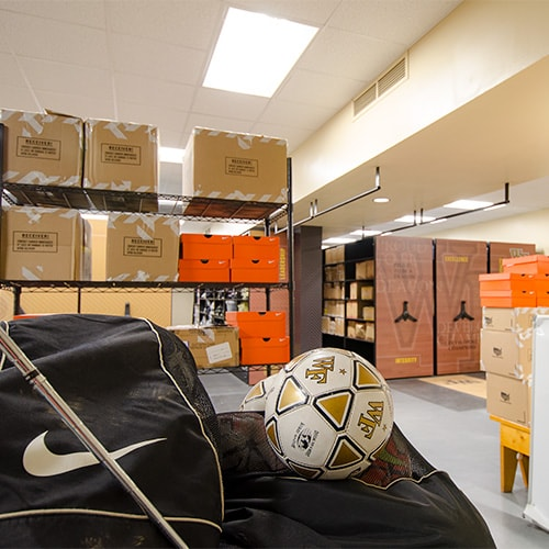Athletic Equipment Storage Systems