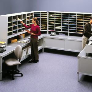 Aluminum Framed Consoles and Sorters