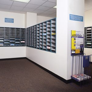Mail Sorters for College Mailrooms