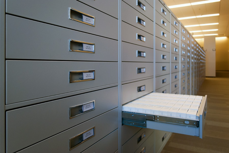 Full Drawer In Media Storage Cabinets