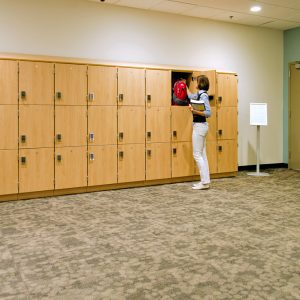 Modular Laminate Lockers for Educational Day Use