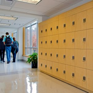 Modular Laminate Lockers for Education