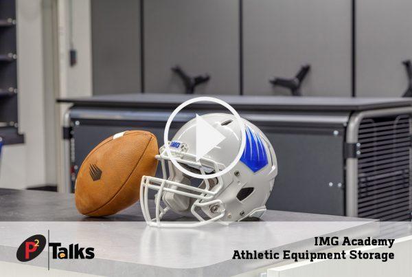 IMG Academy Athletic Equipment Storage